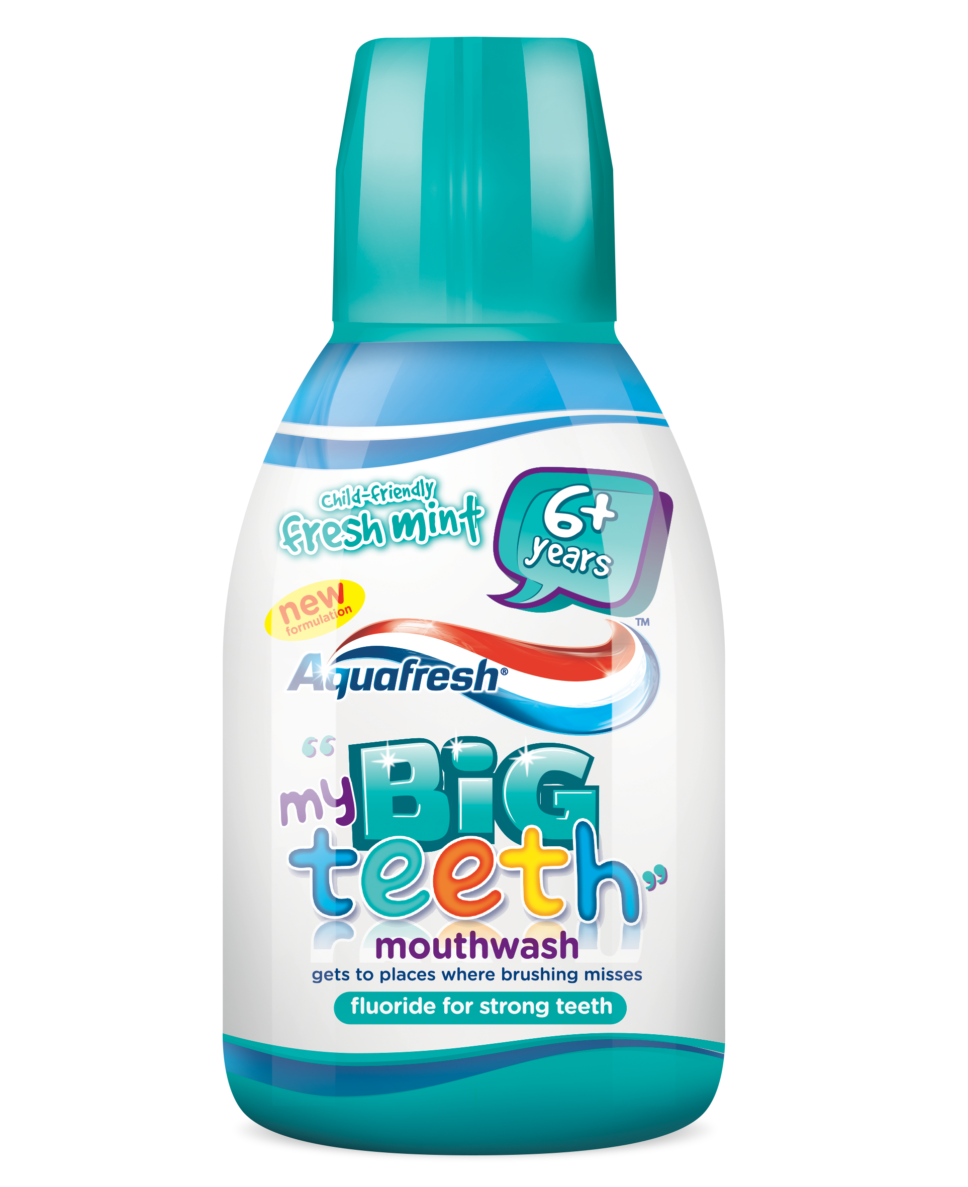 Apa de gură Aquafresh® My Big Teeth